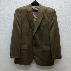 Lauren by Ralph Lauren Men's Sport Coat 44R Olive